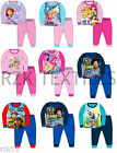 Children's Official Character  Pyjamas Pjs, Kids Photo Print Nightwear