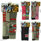 4 Pairs Of Boys Girls Thermal Ski Socks, Kids Design Long Winter Sports Socks