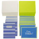 "50 Pack Hallmark 4"" x 5.5"" Blank Inside Thank You Cards With Envelopes Bulk Set"