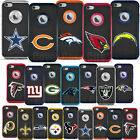 For Apple iPhone 6 6S - Official NFL Rugged Impact 4D Cut Logo Cover Fan Case