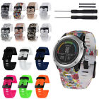 For Garmin Fenix 3/HR Soft Silicone Strap Replacement Watch Strap Band w/ Tools