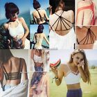 NEW Women Hot Sexy Crop Tops Strap Backless Blouse Vest Cut Out Shirt Beach Tank