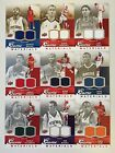 2009-10 Upper Deck Game Materials Jersey w/ Gold Serial #d You Pick Low Shipping
