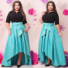 Plus Size Sexy Womens 3/4Sleeve Maxi Cocktail Club Evening Party Dress Bodycon