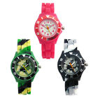Ravel Kids Childs Silicone Jelly Strap Quartz Watch Easy Read 6 Colours