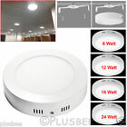 6W 12W 18W 24W Round LED Recessed Ceiling Downlight Suspended Ceiling Down Light