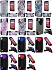 T - Stand Hybrid Case Phone Cover for LG X Power Volt 3 LS755 K210 K6P X3