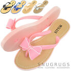 Ladies / Womens Summer / Holiday / Beach Millie Bow Sandal / Shoes / Flip Flops