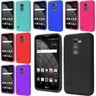 Rubber SILICONE Skin Soft Gel Case Cover For LG Stylus 2 Plus / Stylo 2 Plus