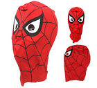 Kids Child Adult Spider man Fancy Dress Masks Toy Costume Cosplay for Halloween