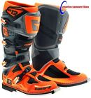 NEW 2016 GAERNE SG12 MOTOCROSS BOOTS GREY BLACK ORANGE ALL SIZES