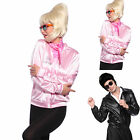 Grease Pink Lady Jacke Jacket für Herren Damen T birds T bird Tbird 50er 60er