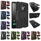 For Lenovo Vibe K4 Note A7010 Heavy Kickstand PC Rubber Rugged Armor Case Cover