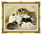 Remembrance of Happy Days Henriette Ronner Knip Repro Cat Lover Gift Art Print