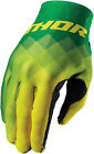Thor 2017 S7 Invert Pix Gloves (Pair) Green Mens All Sizes