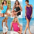 Summer Women Sleeveless Evening Party Ladies Casual Beach Dress Short Mini Dress