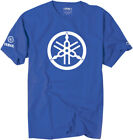 Factory Effex Licensed Yamaha 2D Tuning Fork T-Shirt Blue Mens All Sizes