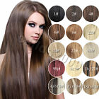 "Womens Cheap Price 22""~36"" Remy Human Hair Extensions Clip In Straight Hair 140g"