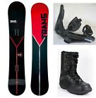 "NEW TRANS ""STYLE"" SNOWBOARD, BINDINGS, BOOTS PACKAGE - 155cm"