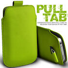 PULL TAB PU LEATHER POUCH COVER CASE only fits VodaFone Smart 4 Power