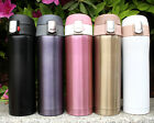Stainless Steel Mug Thermos Vacuum Cup Insulated Travel Auto Water bottle 450ml