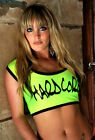 Funki-B sexy printed crop vest top rave cyber neon any colours and wording UV
