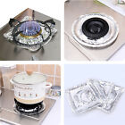 Внешний вид - 10Pcs Aluminum Foil Round/Square Gas Burner Disposable Bib Liner Cover For Stove