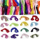 10M 2mm Satin Nylon Cord Rattail Thread Macrame Braided Chinese Knot Craft DIY