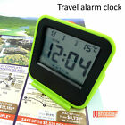 Digital Snooze Alarm LCD Travel Clock Calendar R10 Bed Room Thermometer