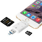 3 in 1 iFlash Drive USB Micro SD TF Card Reader for Apple IOS PC Android Phones