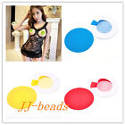 Fashion Women SEXY Round Adhesive Nipple Covers Stickers Lingerie Pasties Breast