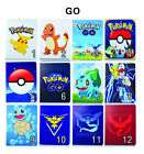 Pokemon Go Game Pikachu Leather Stand Case Cover For iPad 2/3/4 mini 2 3 4/Air 2