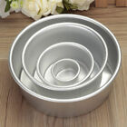 2-10inch Aluminum Alloy Round Cake Pan Tins Baking Mould Bakeware Tray CookingLA