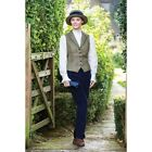 Equetech County Cord In-Hand Showing Trousers - Stone, Navy & Black