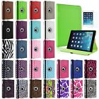 360 Rotating Folio Leather Ultra Smart Stand Case Cover for Apple iPad Air