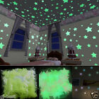 100Pcs Lots Wall Sticker Home Decor Glow In The Dark Star Decal Baby Kid Room