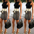 CHIC Womens Sexy Dress Ladies Bodycon Cocktail Party Evening Dress