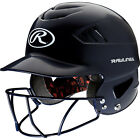 Rawlings Adult COOLFLO Molded Baseball Batting Helmet With Face Guard