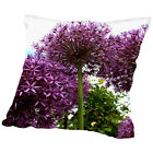 Americanflat Allium Flower 2 Throw Pillow