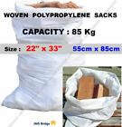 WOVEN LARGE EXTRA HEAVY DUTY RUBBLE SAND BAG SACKS POLYPROPYLENE BUILDER