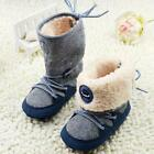 Baby Boy Girl Winter Warm Boots Toddler Infant Soft Sole Crib Shoes 0-12Months