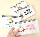 2017 Waru Sushi Weekly Planner Diary Spring Scheduler Agenda Journal Notebook