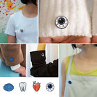 Xmas Pins Tooth Eye Heart Brain Organ Brooches Needle Collar Costume Party Gift