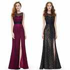 Women's Sexy Split Long Evening Bridesmaid Formal Party Prom Dresses 08950