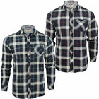 Mens Flanned Check Shirt by Tokyo Laundry 'Callaghan' Long Sleeved