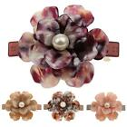 Women New Fashion Elegant Acrylic Barrette Flower Hair Clip Pin Hair Accessory