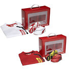 Puma Crib Pack Ferrari 2 Baby T Shirt & Shoes Top Trainers Slip On Red White R