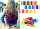 new Temporary Hair Chalk 6-36Colors/box Powder Pastel Blue Hair Dye Giz Pastel
