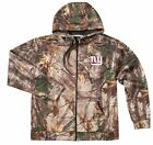 NEW XL 5XL 4XL NFL RealTree New York Giants Mens Jacket Camo Coat Hunting Hoodie $28.97 USD on eBay