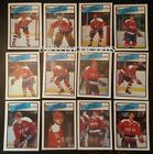1988-89 OPC WASHINGTON CAPITALS Select from LIST NHL HOCKEY CARDS O-PEE-CHEE $2.39 CAD on eBay
